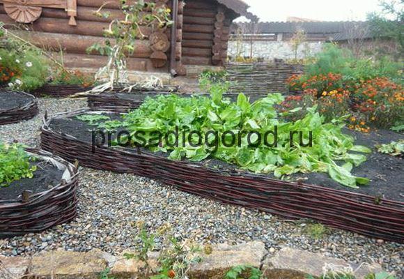 декор огорода и дачи своими руками