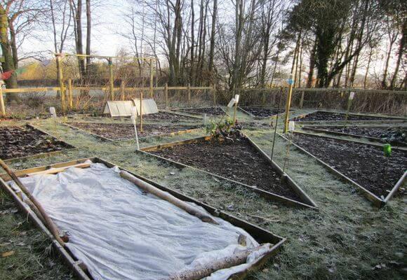подготовка огорода в марте