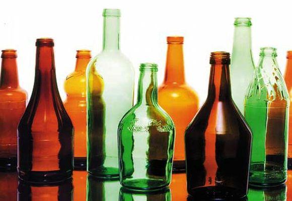 бутылки из стекла