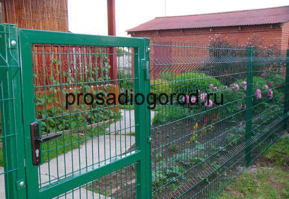 панельные ограждения для огорода
