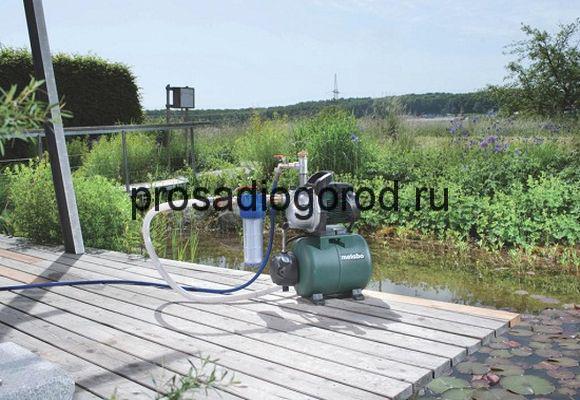 насосная станция для полива огорода