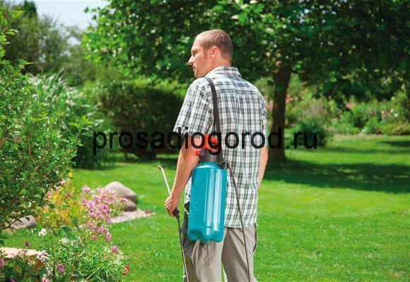 опрыскиватель для огорода своими руками