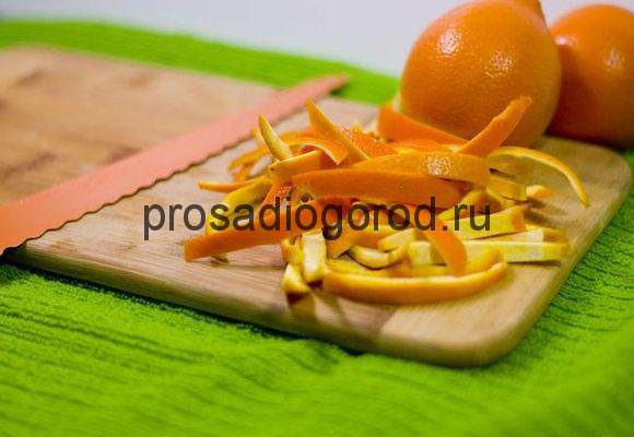 апельсиновые корки в огороде применение