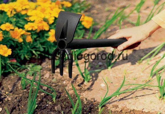 маленькая садовая тяпка