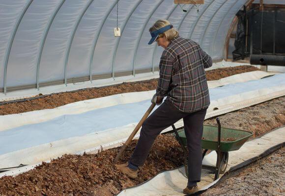 подготовка грядок для посадки рассады
